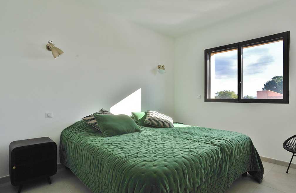 maison t4 individuel cala-rossa portovecchio chambre2