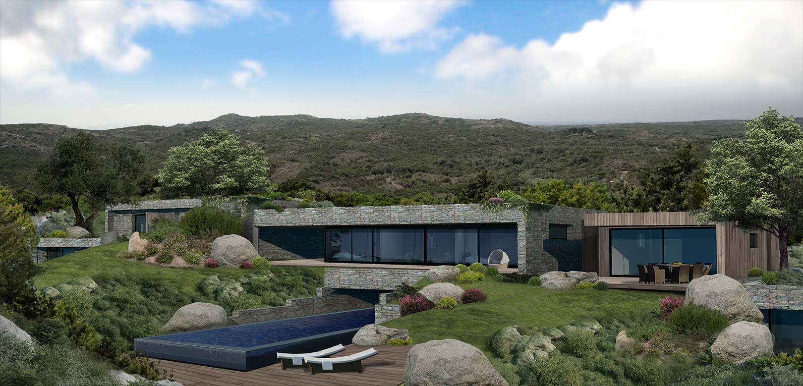 Projet immobilier neuf Bonifacio Sud Corse